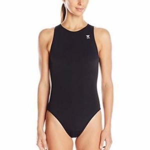TYR Destroyer Water Polo One Piece Swimsuit 32